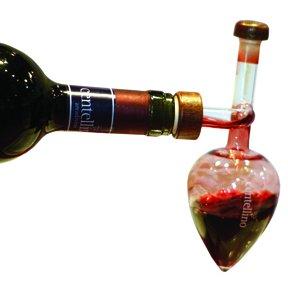Centellino Single Glass Wine Decanter