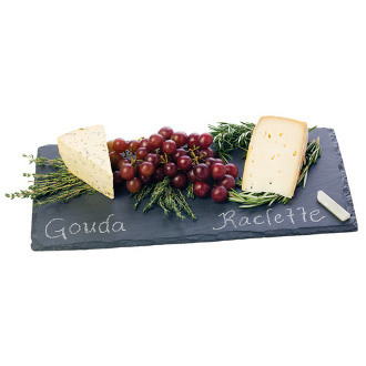 Slate Cheeseboard and Chalk Set