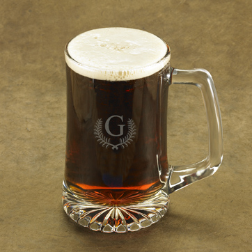 Personalized Caesar Monogram Sports Mug