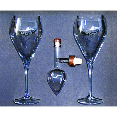 Centellino Gift Box w/ Wine Goblets