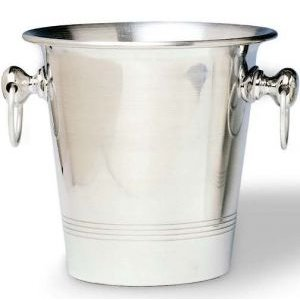 Aluminum Wine Bottle Chiller Bucket, Flared