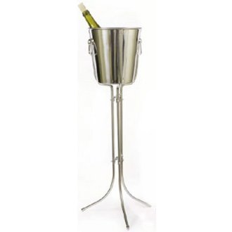 Stainless Steel Champagne Bucket with Stand