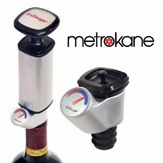 Metrokane V Gauge Wine Preserver
