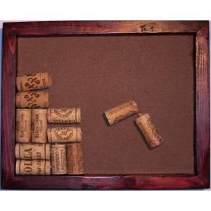 Wine Cork Trivet, Red Mahogany