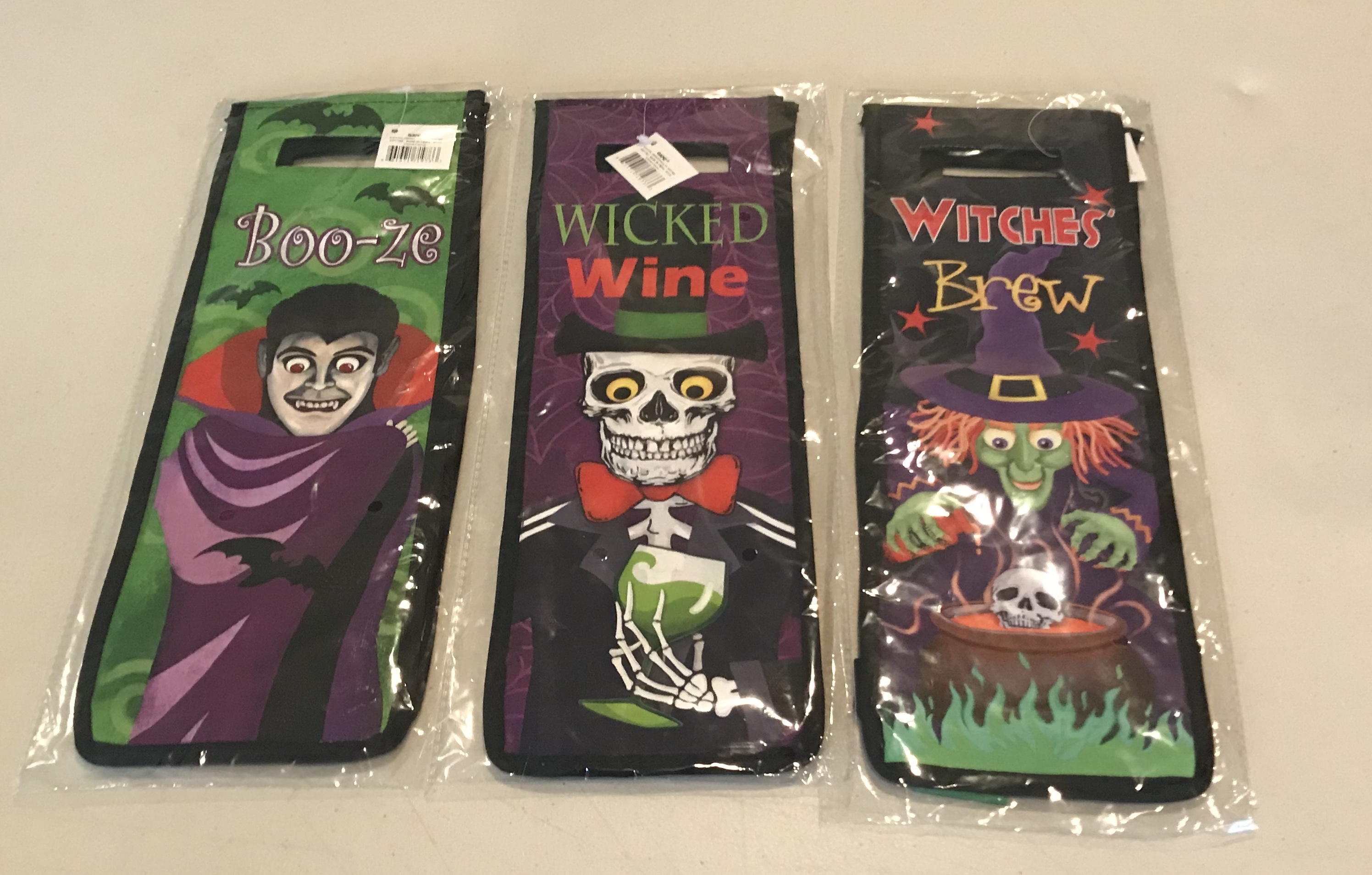 Halloween Wine Bottle Bag