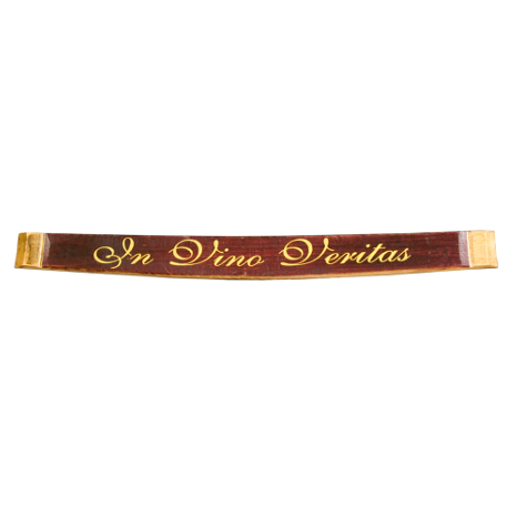 In Vino Vertias Barrel Stave Wall Sign