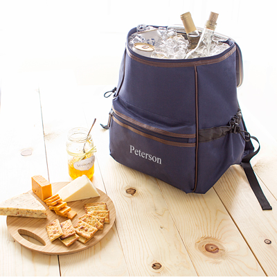 Personalized Insulated Backpack Beer Cooler