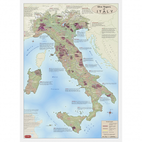 Wine Regions of Italy Wine Map