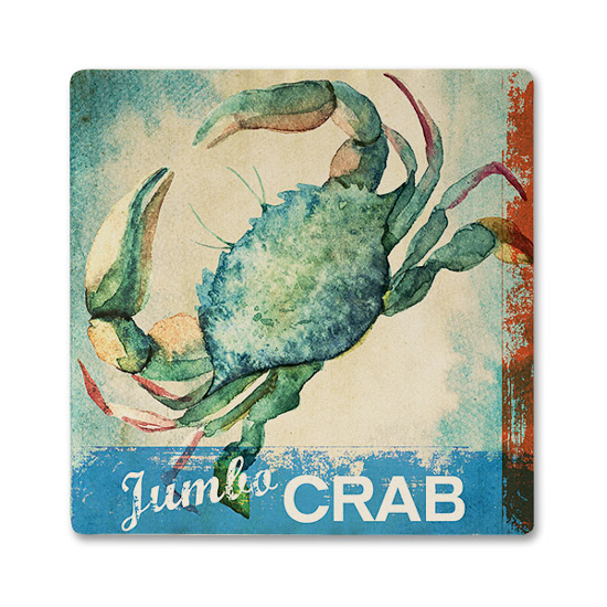 Jumbo Crab Ceramic Beverage Coaster