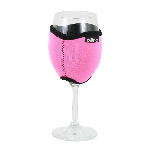 Vino Hug Neo - Pink Wine Glass Koozie