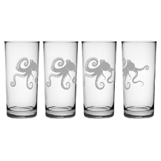 Kraken Hiball Glass Set Of 4
