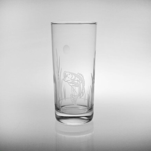 Lake Fish Cooler Glasses (set of 4)
