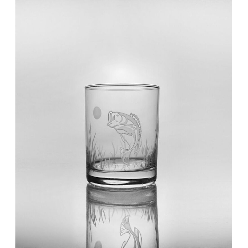Lake Fish DOF Glasses (set of 4)