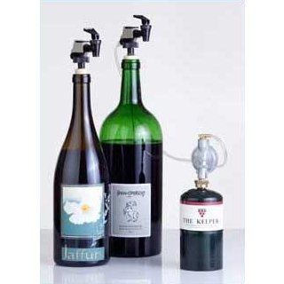 WineKeeper Wine Preservation System for Large Bottles