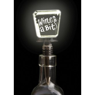 LED Wine Bottle Stopper Wine a Bit