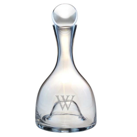 Personalized Lenox Tuscany Decanter with Stopper