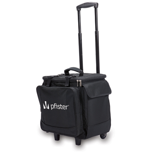 Bodega Wine Luggage with Wheels, Logo (12 Pieces)