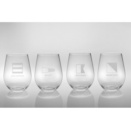 Life At Sea Acrylic Tumblers (set of 4)