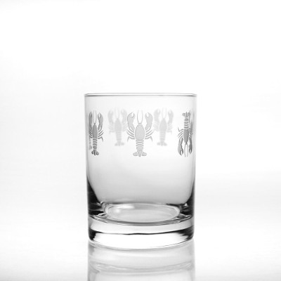 Lobster Pod DOF Glasses (set of 4)