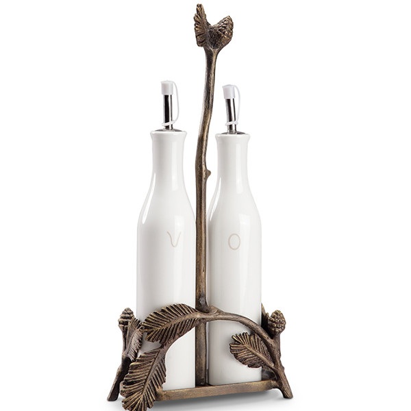 Lodge Collection Oil and Vinegar Set