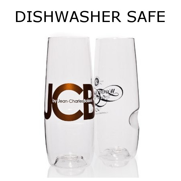 Govino Champagne Flutes with Logo Dishwasher Safe (Set of 288)