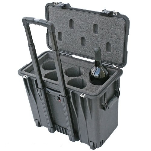 Magnum 5 Pack Wine Suitcase With Wheels