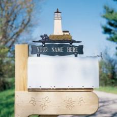 Lighthouse Mailbox Ornament