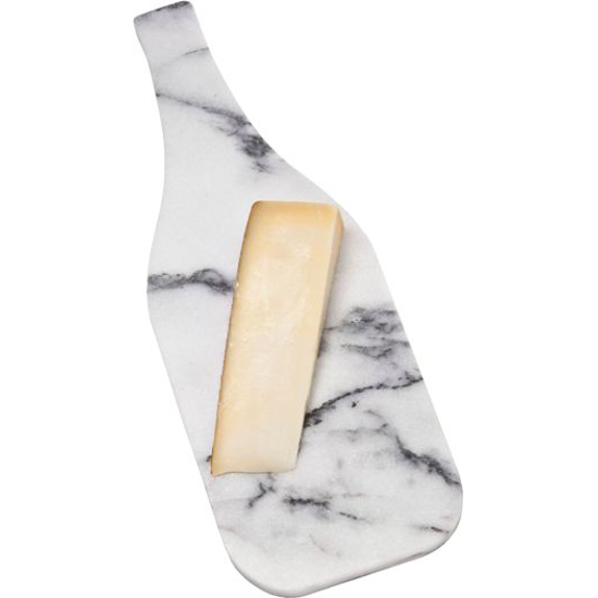 Marble Bottle Shaped Cheese Server