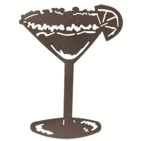 Margarita Metal Wall Art