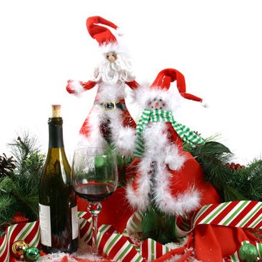 Holiday Wine Bottle Clothes