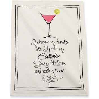 Martini Friends Towel