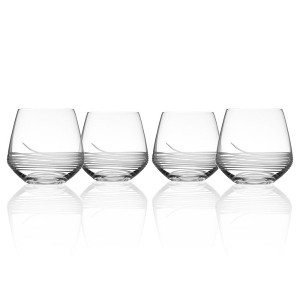 Mid-Century Modern DOF Glasses (set of 4)