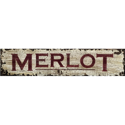 Personalized Merlot Wine Sign