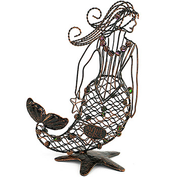 Mermaid Wine Cork Cage Corks Holder