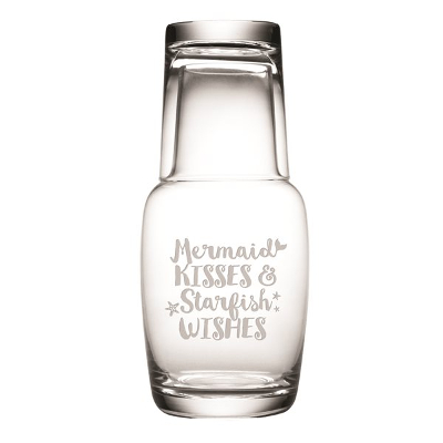 Mermaid Kisses and Starfish Wishes Night Bottle Set