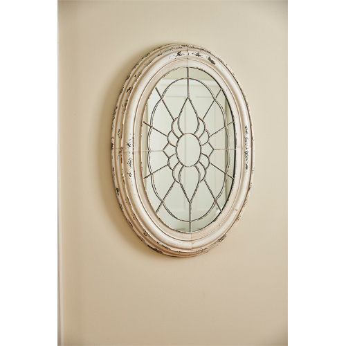 Metal Window Frame Mirror