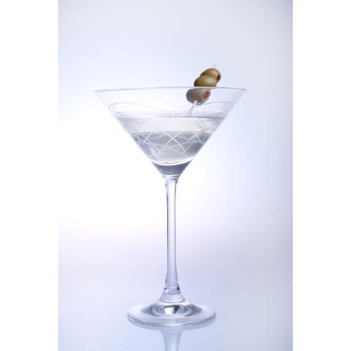 Mid-Century Modern Martini Glasses