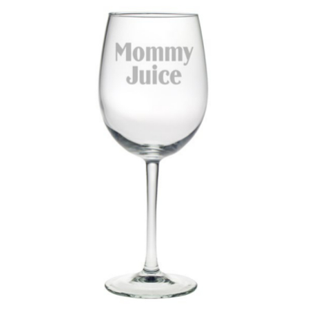 Mommy Juice All Purpose Wine Glasses (set of 4)