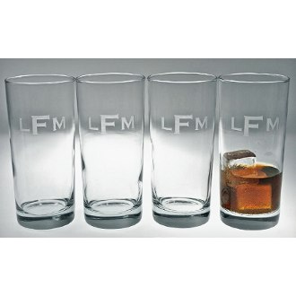 Personalized Cooler Glasses (set of 4)