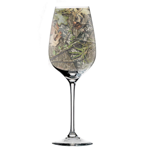 Mossy Oak Wine Glasses