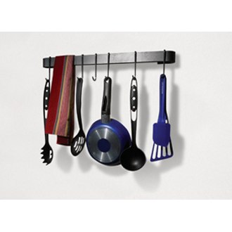Rack It Up Utensil Bar Pot Rack