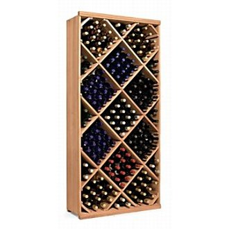 N'finity Wine Rack Kit Diamond Bin Natural