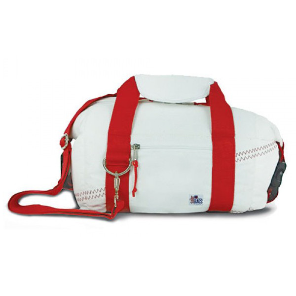 Newport 8-Pack Beer Cooler Bag with Red Straps