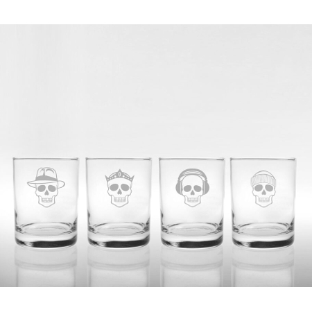 Numbskulls Double Old Fashioned Glass (set of 4)