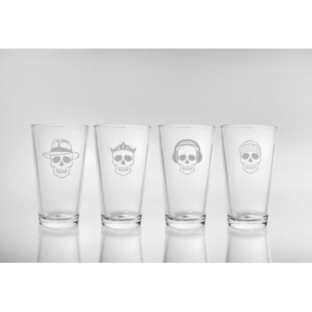 Numbskulls Pint Beer Glasses (set of 4)