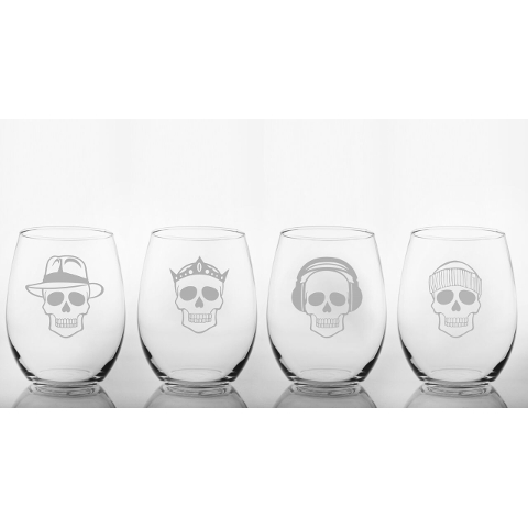 Numbskulls Red Wine Tumbler (set of 4)