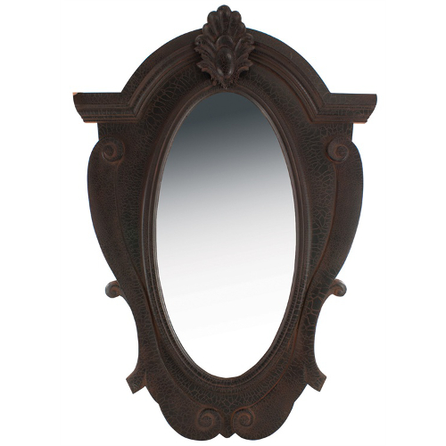 Ornate Wood Mirror