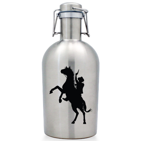 Outlaw Stainless Steel Beer Growler