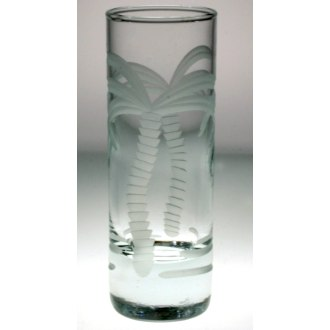 Palm Tree Cordial Glasses (set of 4)