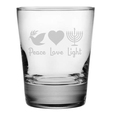 Peace Love Light DOF Glasses (set of 4)